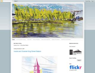 seattle.urbansketchers.org screenshot
