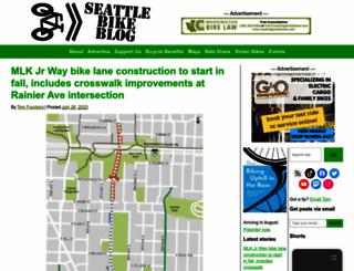 seattlebikeblog.com screenshot