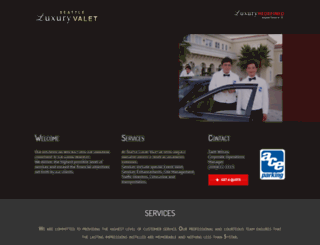 seattleeventvalet.com screenshot