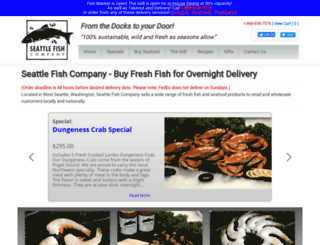 seattlefishcompany.com screenshot