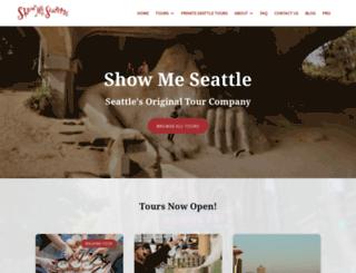 seattlefoodtours.com screenshot