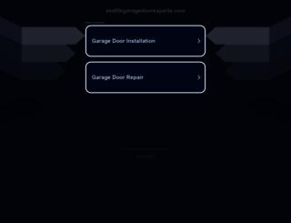 seattlegaragedoorexperts.com screenshot