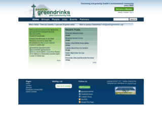 seattlegreendrinks.org screenshot