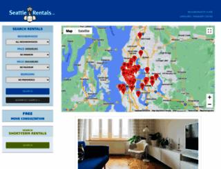 seattlerentals.com screenshot