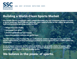 seattlesports.org screenshot