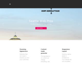 seattlewebpros.com screenshot