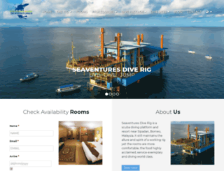 seaventuresdive.com screenshot