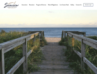 seaviewfireisland.com screenshot