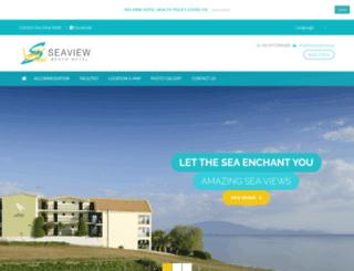 seaviewhotel.gr screenshot