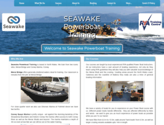 seawakepowerboattraining.co.uk screenshot