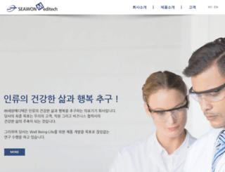 seawonmt.com screenshot
