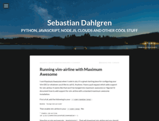 sebastiandahlgren.se screenshot