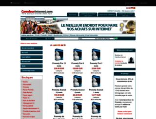 sebastien05.carrefourinternet.com screenshot