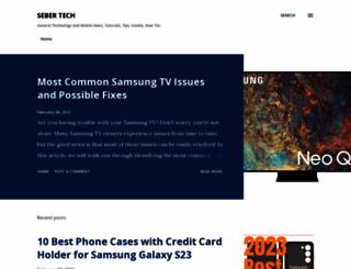 sebertech.com screenshot