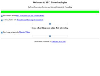 sec.com screenshot