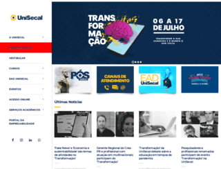 secal.edu.br screenshot