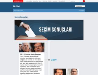 secim.haberler.com screenshot