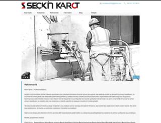 seckinkarot.com screenshot