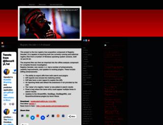 seclist.wordpress.com screenshot