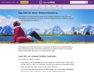secret-wiki.de screenshot