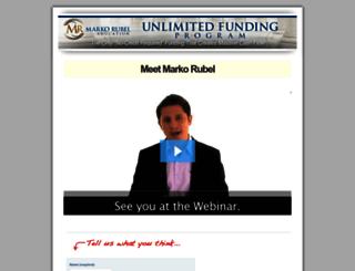 secret.markorubel.com screenshot