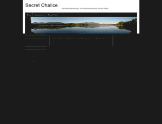 secretchalice.com screenshot