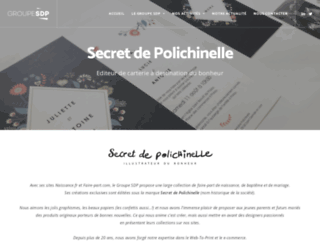 secretdepolichinelle.com screenshot