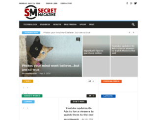 secretmagazin.com screenshot