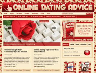 secretofdatingonline.com screenshot