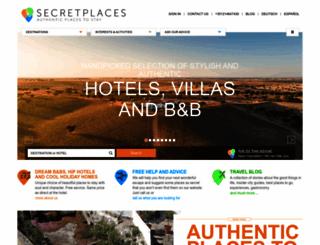 secretplaces.com screenshot