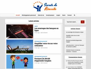 secretsdereussite.com screenshot