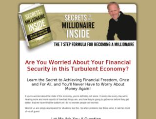 secretsofthemillionaireinside.com screenshot