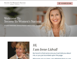 secretstowomenssuccess.com screenshot