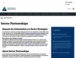 sectorssummit.com screenshot