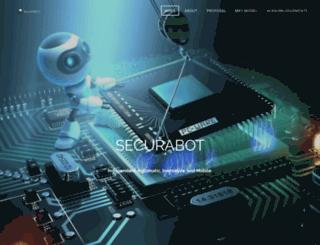 securabot.weebly.com screenshot