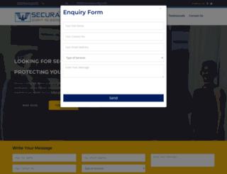 securasecurity.org screenshot