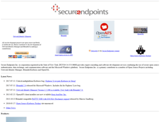 secure-endpoints.com screenshot