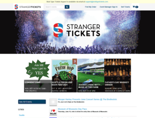 secure-hopscotch.strangertickets.com screenshot