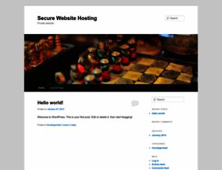 secure-web-site-hosting.com screenshot