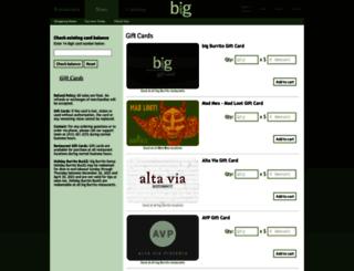 secure.bigburrito.com screenshot