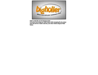 secure.bigholler.com screenshot