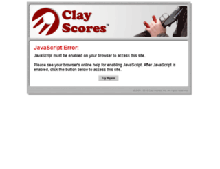 secure.clayscores.com screenshot