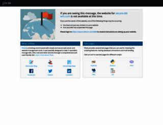 secure.dd-wrt.com screenshot