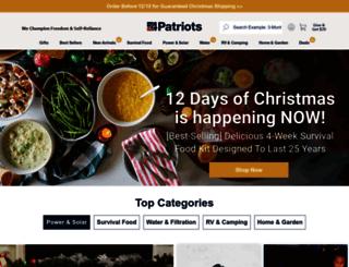 secure.food4patriots.com screenshot