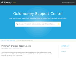 secure.goldmoney.com screenshot