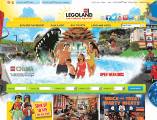 secure.legolandcaliforniaresort.com screenshot