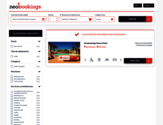 secure.neobookings.com screenshot
