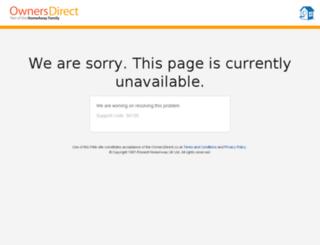 secure.ownersdirect.co.uk screenshot