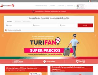 secure.primeraplus.com.mx screenshot