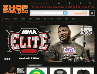secure.sherdog.com screenshot